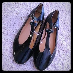 Urban Outfitters Mary Jane Black Patent Leather  7